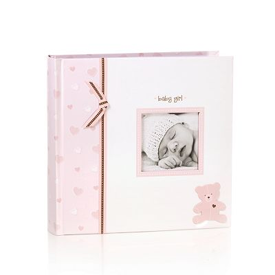 Pearhead Baby Girl Bear Photo Album