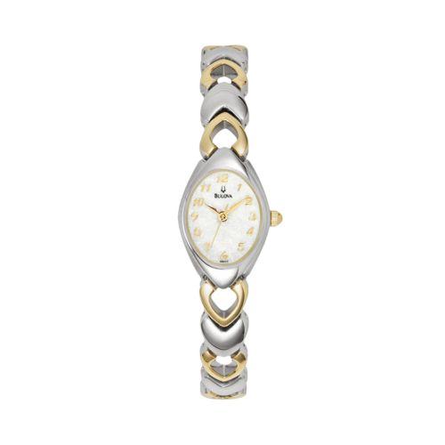 Bulova Watch - Women's Dress Two Tone Stainless Steel - 98V02