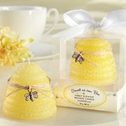 Kate Aspen Sweet As Can Bee Honey-Scented Beehive Candle