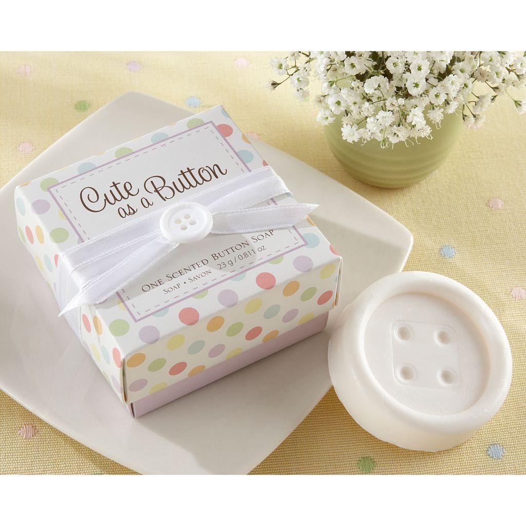 Kate Aspen Cute As A Button Scented Button Soap