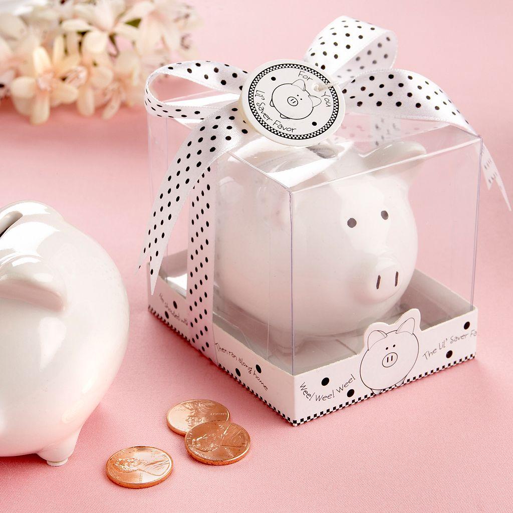 Kate Aspen Lil' Saver Favor Mini Piggy Bank