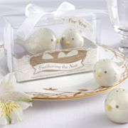 Kate Aspen Feathering the Nest Bird Salt and Pepper Shakers