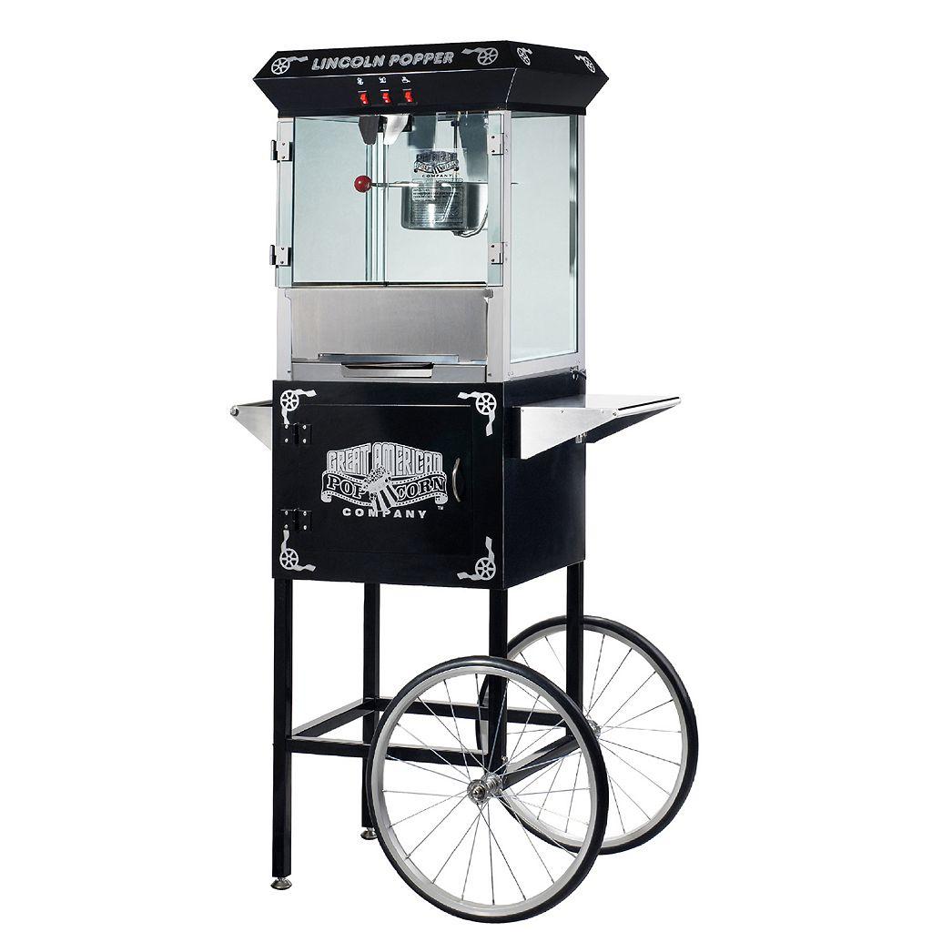 Great Northern Lincoln Popcorn Machine