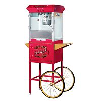 Great Northern Pasadena Popcorn Machine with Cart