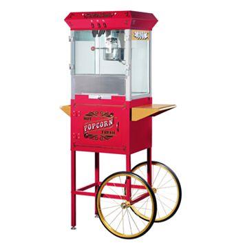 Great Northern Pasadena Popcorn Machine with Cart