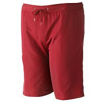 Big & Tall Residence Solid Swim Trunks