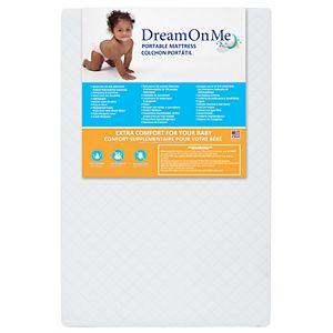 "Dream On Me 3"" Mini/ Portable Crib Mattress"