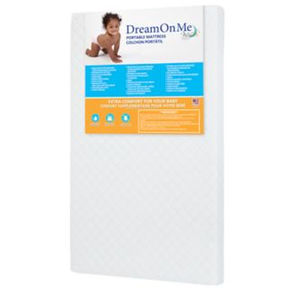 "Dream On Me 3"" Mini/ Portable Crib Mattress"