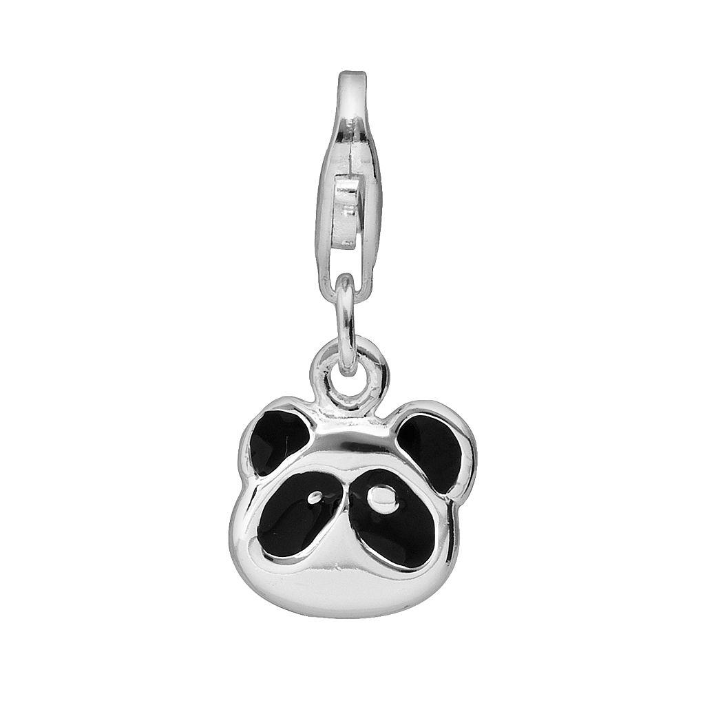 Personal Charm Sterling Silver Panda Bear Charm