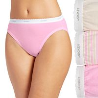 Jockey Classics 3 pkFrench-Cut Briefs 9480 - Women's