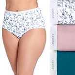 Plus Size Jockey® Classics 3-pk. Brief Panty Set 9483