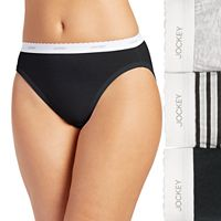 Jockey Classics 3 pkFrench Hi-Cut Panties 9481
