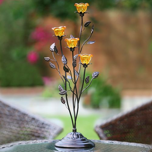 Anywhere Lighting Flower Cluster Led Candelabra