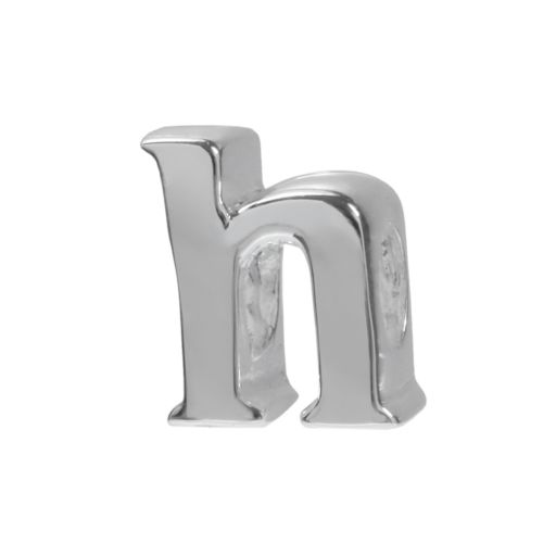 Individuality Beads Sterling Silver Initial Bead