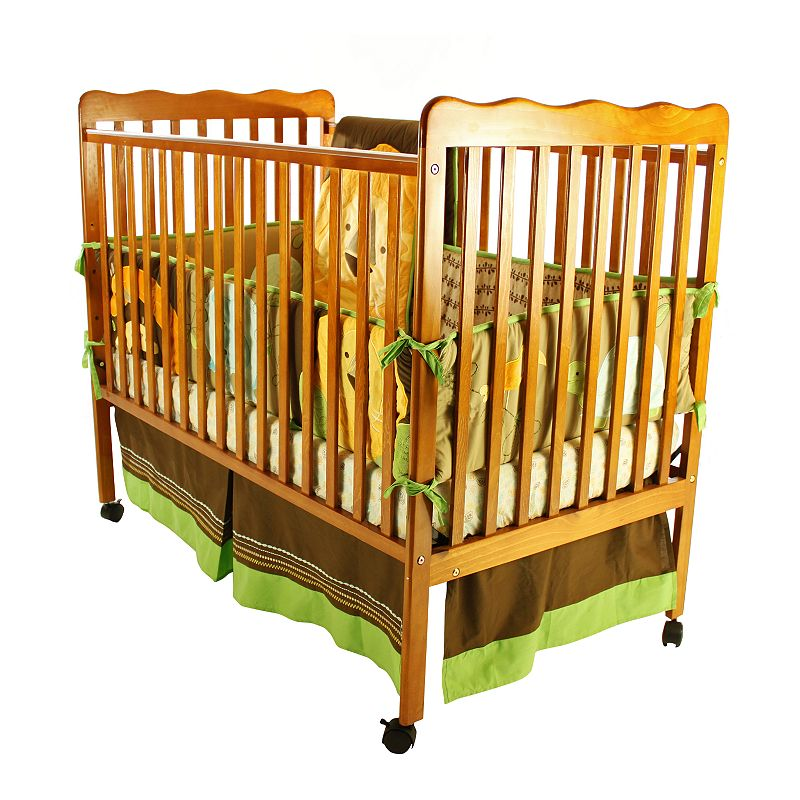 Portable Convertible Crib Baby Day Twin Toddler Bed