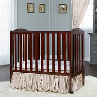 Dream On Me 2-in-1 Wood Folding Portable Crib