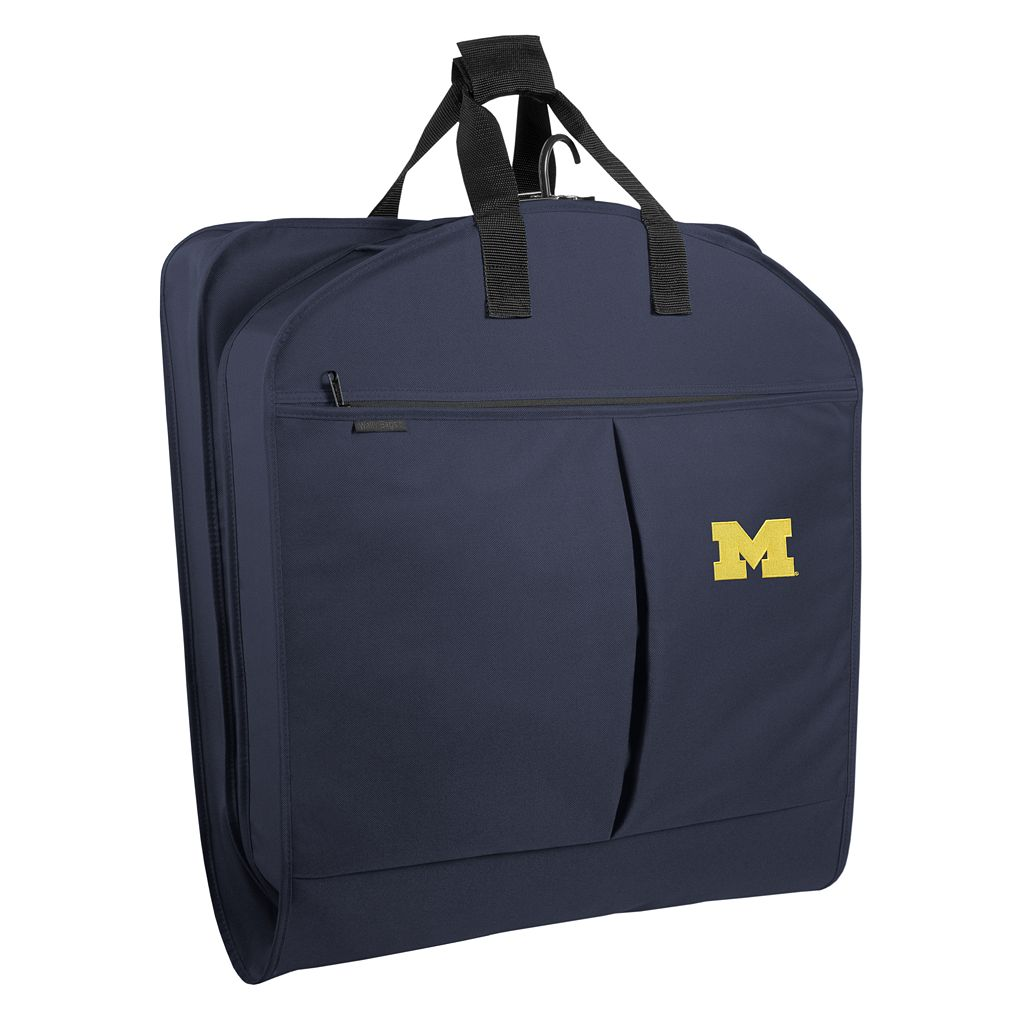 WallyBags Michigan Wolverines 40-Inch Suit Garment Bag
