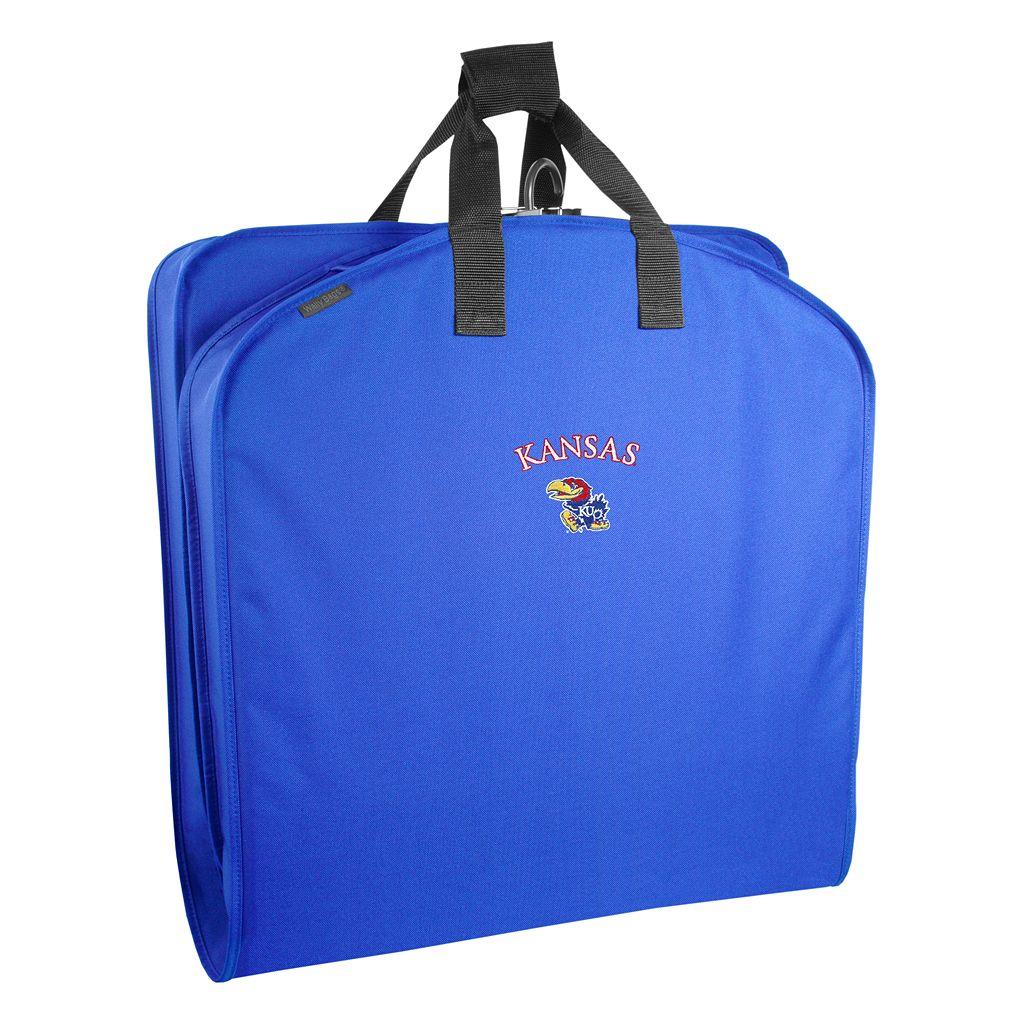 WallyBags Kansas Jayhawks 40-Inch Suit Garment Bag