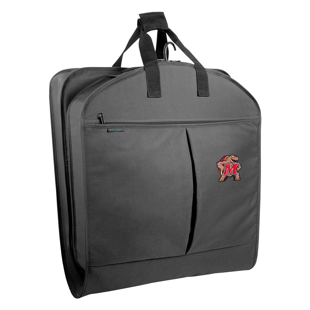 WallyBags Maryland Terrapins 40-Inch Suit Garment Bag