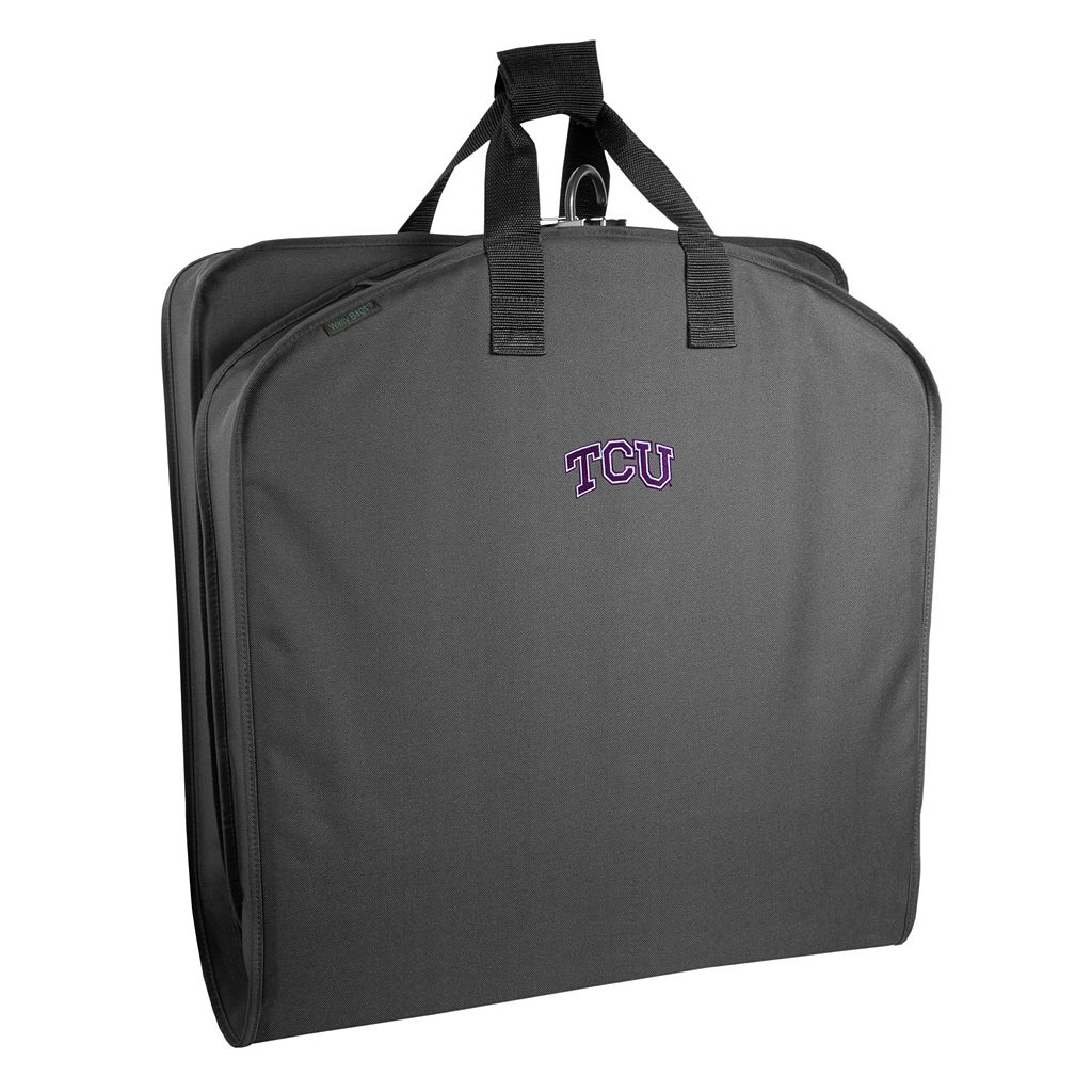WallyBags TCU Horned Frogs 40-Inch Suit Garment Bag