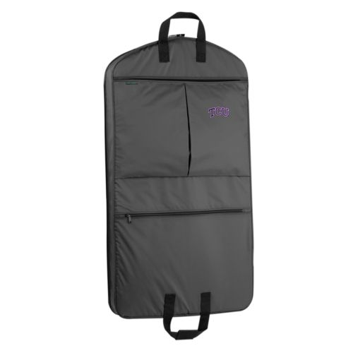 WallyBags TCU Horned Frogs Luggage, 40-in. Suit Garment Bag