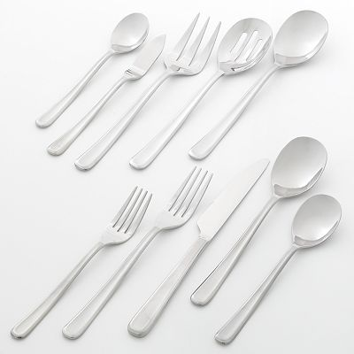 Food Network Rosemary 45-pc. Flatware Set