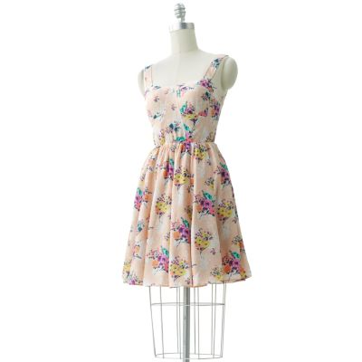 LC Lauren Conrad Floral Dress