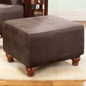 Homestyles by Sure Fit Stretch Ottoman Slipcover