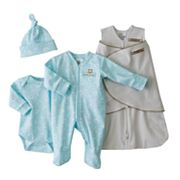 HALO Animal and Dot SleepSack Swaddle Set