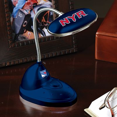 Memory Company New York Rangers Flexible LED Desk Lamp