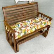 Floral Porch Swing Bench Cushion