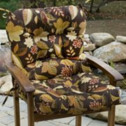 Floral Outdoor Chair Cushion