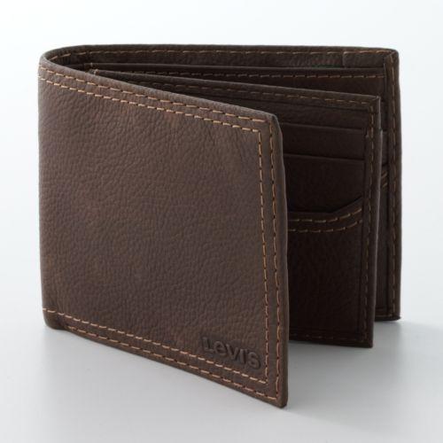 Levi's Slimfold Leather Wallet
