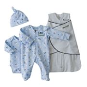 HALO Pup Pals and Dot SleepSack Swaddle Set