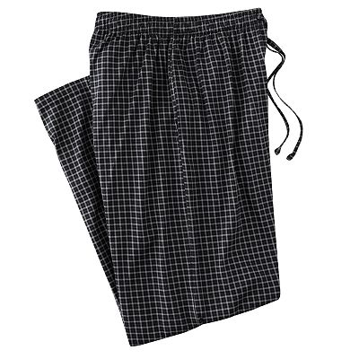Croft and Barrow Checked Lounge Pants