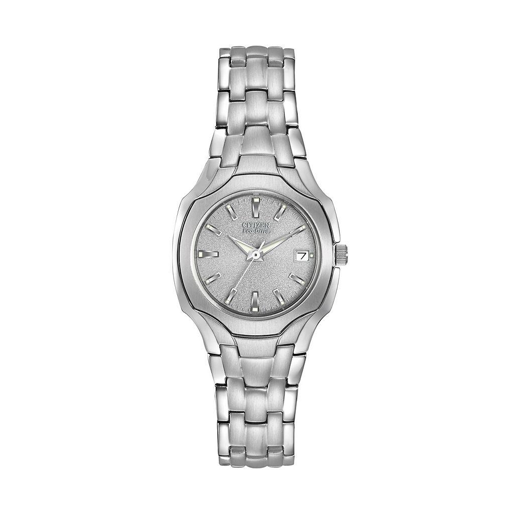Citizen Eco-Drive Women's Stainless Steel Watch - EW1250-54A