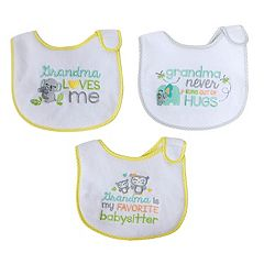Baby Treasures Neutral 3 pkBibs