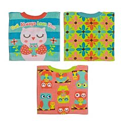 Baby Treasures 3 pkPull-Over Bibs