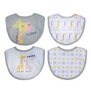 Baby Treasures 4-pk. Little Royalty Bibs