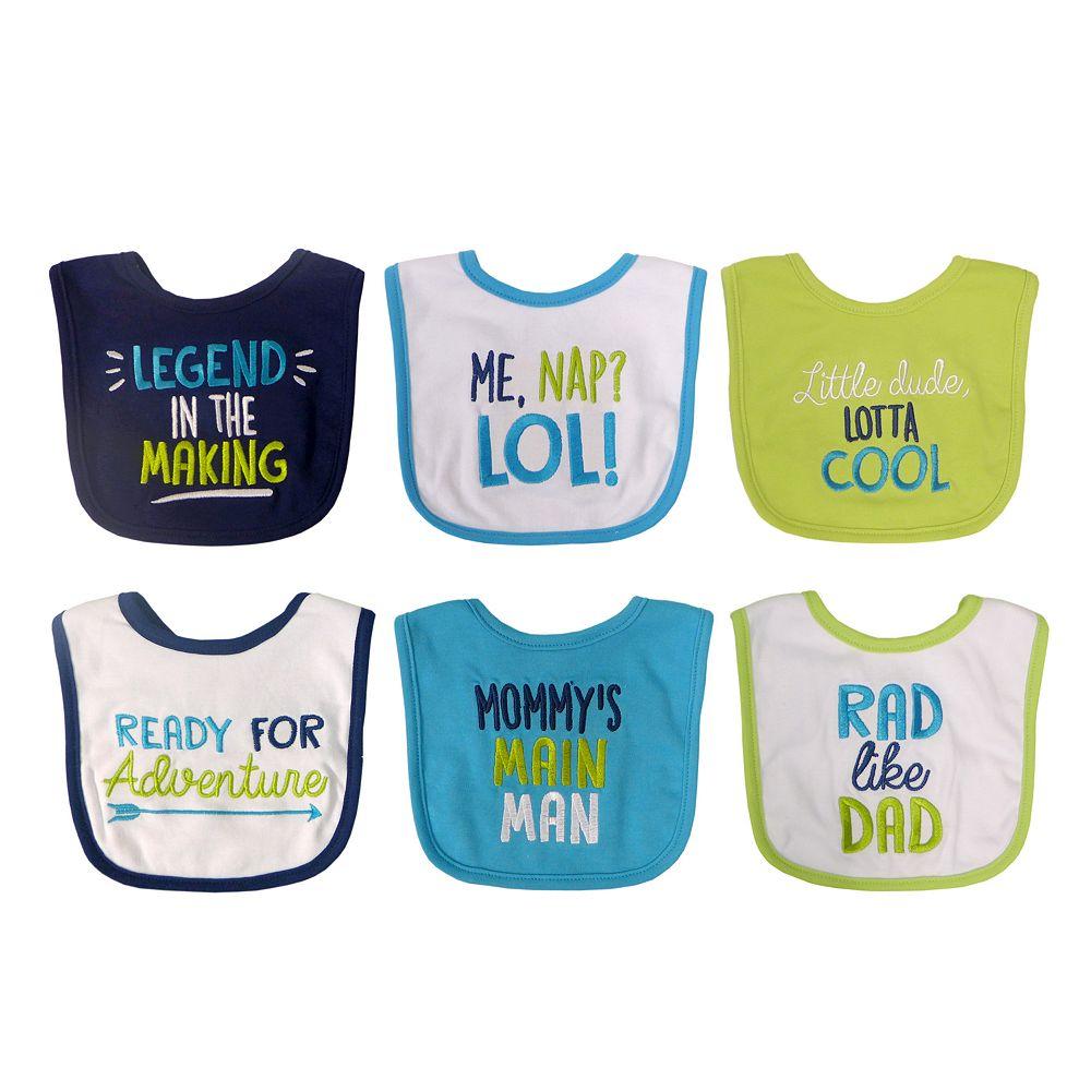 Baby Treasures Bibs 6-Pack