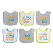 Baby Treasures 6 pkNeutral Bibs