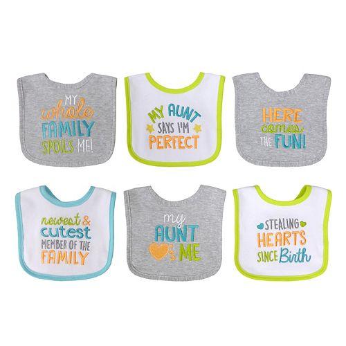Baby Treasures 6-pk. Neutral Bibs