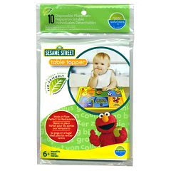 Sesame Street 10 pkTable Topper Disposable Placemats