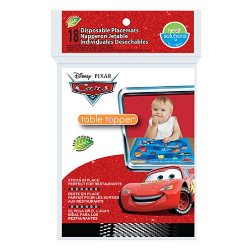 Disney / Pixar Cars 18-pk. Table Topper Disposable Placemats by Neat Solutions