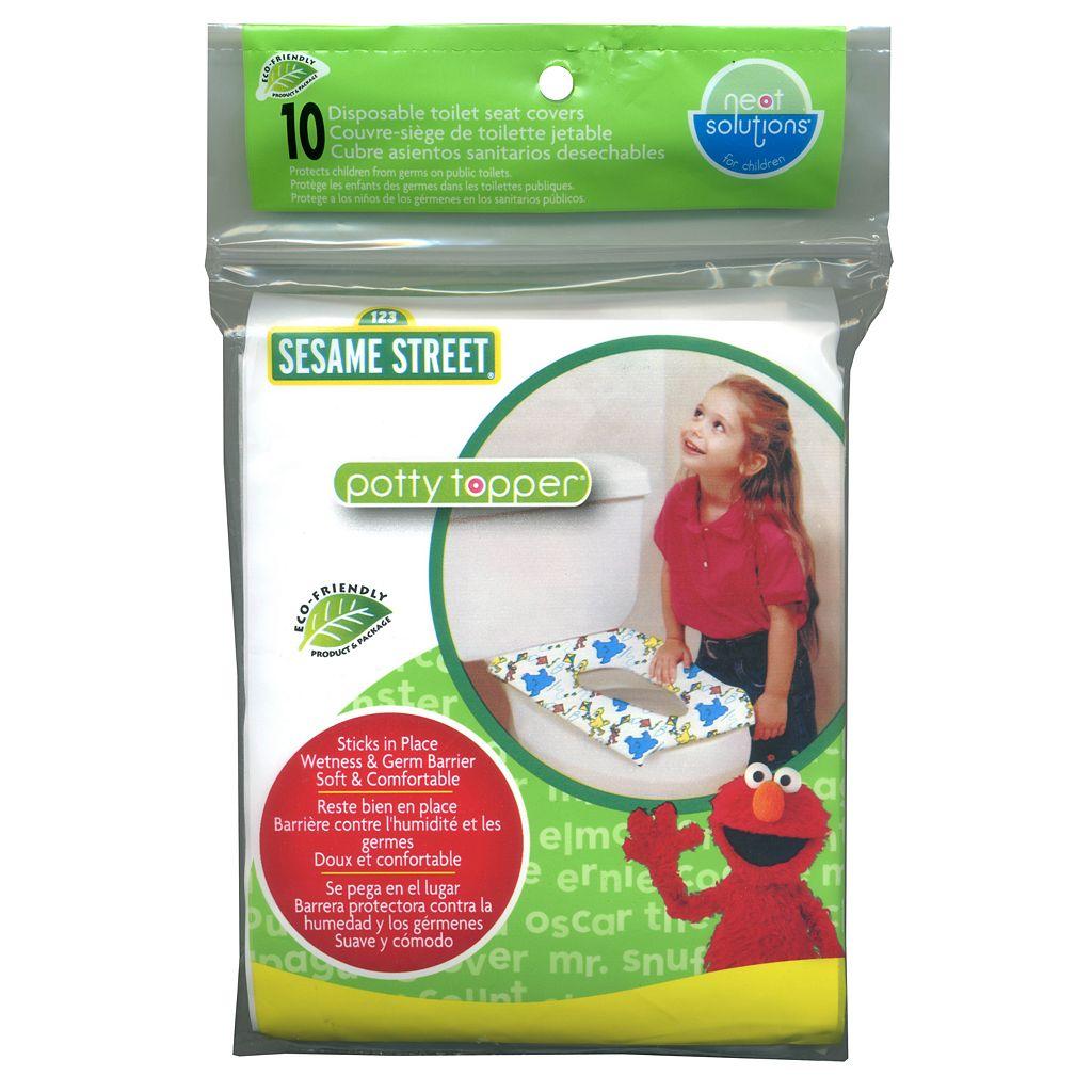 Sesame Street Potty Topper 10-pk. Disposable Toilet Seat Covers