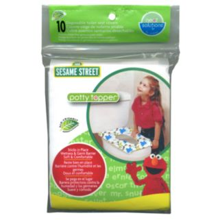 Sesame Street Potty Topper 10-pk Disposable Toilet Seat Covers