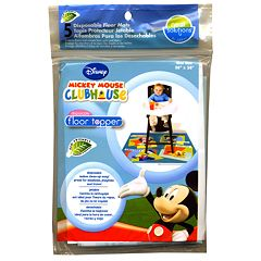 Disney Mickey Mouse Floor Topper 5-pk. Disposable Floor Mats