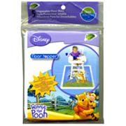 Disney Winnie the Pooh Floor Topper 5-pk. Disposable Floor Mats