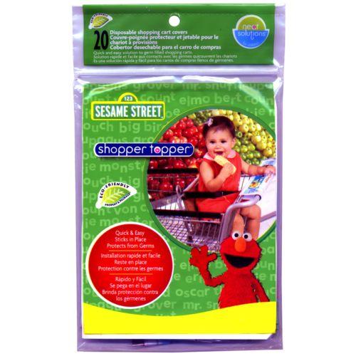 Sesame Street 20-pk. Shopper Topper Cart Covers