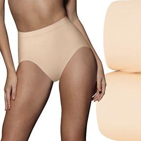 Women's Bali® 2-Pack Ultra-Control Seamless Briefs X204